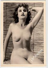 #843 ROESSLER AKTFOTO / NUDE WOMAN STUDY * Vintage 1950s Studio Photo - no PC !