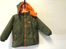 BOY'S XTREME OUTDOOR EXPEDITION HOODED JACKET SZ 3T GREEN FILLED COAT OUTERWEAR