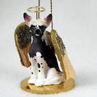 Chinese Crested Ornament Angel Figurine Hand Painted