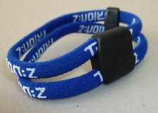 Trion Z Double Band  Magnetic Ionic Bracelet  Blue Small New