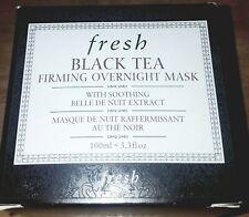 FRESH Black Tea Firming Overnight Mask BNIB 3.3 Oz Retail $92