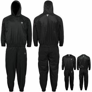 RDX Schwitzanzug Saunaanzüge Gewichtsverlust Trainingsanzug Sauna Suit Fitness D
