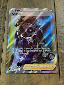 Pokemon TCG - Allister 179/185 Full Art Trainer - Vivid Voltage - Near Mint