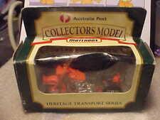 Matchbox Australia Post Collectors Model Motorcycle
