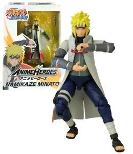 """Bandai Anime Heroes Naruto Shippuden Uzumaki Minato 6"""" Action Figure"""