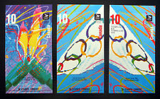 CANADA 1992 Olympic Booklets SB154a & 156 x 2 Different Covers Cat £28.50 FP7643