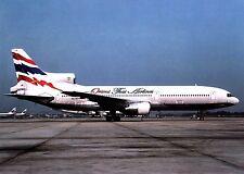 Orient Thai Airlines , Lockheed L-1011-1 ,  Ansichtskarte