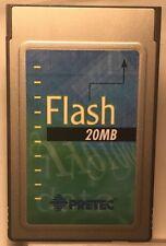 Pretec 20MB PCMCIA / JEIDA / PC Card 68 Pin Linear Flash Card Intel SII+ F23020