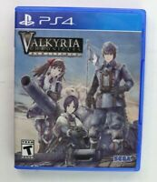 PS4 Valkyria Chronicles Remastered Edition (Sony PlayStation 4, 2016) Tested