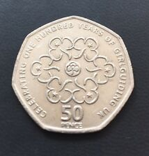 50p Coin 2010 100 Years Of Girl Guides Quality Coin FREEPOST