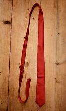 Ben Sherman Red Skinny Silk Tie, Mod, England