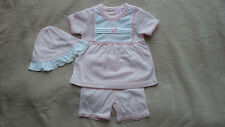 Girls' No Pattern Cotton Blend Outfits & Sets (0-24 Months)