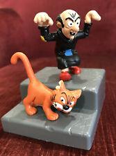 NEW SMURFS GARGAMEL & AZRAEL CAT SCHLEICH PVC TOY FIGURES PEYO MINT UNUSED!!