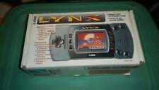Atari Lynx II Launch Edition Gray Handheld System with box