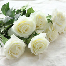 Popular 1/20PCS Real Latex Touch Rose Flowers Wedding Home Design Bouquet Decors