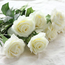 Popular 1-20PCS Real Latex Touch Rose Flowers Wedding Home Design Bouquet Decors