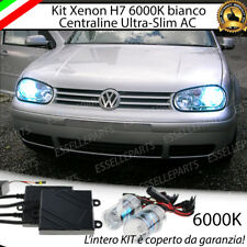 KIT XENON XENO H7 AC 6000 K 35W SPECIFICO PER VW GOLF 4 IV NO ERROR CON GARANZIA