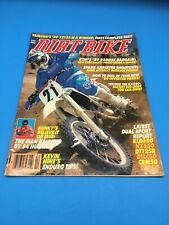 DIRT BIKE MAGAZINE OCT. 1988 KTM250, YZ125 KX550, KLR650, CRM50, DT/LC50, NX650
