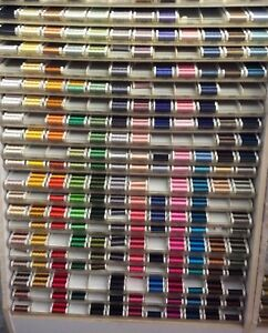 SULKY 40 WEIGHT RAYON EMBROIDERY THREAD- 250 YARDS---MANY CHOICES