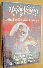 NIGHT VISIONS 5 (1988, 1st) Stephen King, Dan Simmons & George R.R. Martin~G+/VG