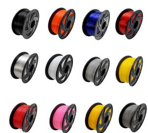 3D Drucker Filament PLA Silk PETG ABS TPU HIPS ASA Nylon Wood PCL 1,75mm 1kg