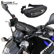 Motorcycle Handlebar Bag Motorbike Tool Bag Pouch Outdoor Travel Storage Black