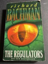 The Regulators by Richard Bachman (Stephen King) RARE Paperback Cover 1996c