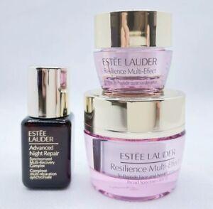 Estee Lauder Resilience Multi-Effect Cream Eye Cream Face Neck Night Repair Lot