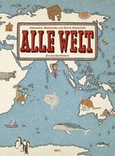 ALLE WELT - Das Landkartenbuch ►►►UNGELESEN ° Daniel und Aleksandra Mizielinska