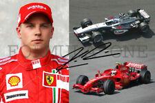 Kimi Räikkönen 2001 - 202? Formula One GP winner + champion (DRUCK * PRINT)