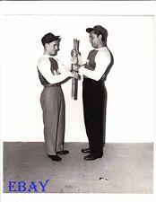 Roddy McDowall Robert Mitchum Photo from Original Negative