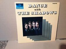 """THE SHADOWS - DANCE WITH THE SHADOWS - ROCK """" N """" ROLL - VINYL LP - PLAY  TESTED"""