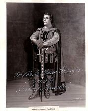 HERBERT JANSSEN opera baritone signed photo as Telramund in Lohengrin