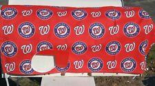 MLB baseball mailbox cover - Washington Nationals