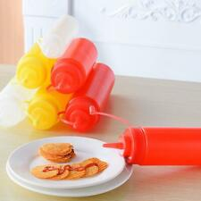 80-240z Plastic Clear Squeeze Ketchup Sauce Salad Bottle Dispenser Bottles