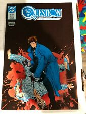 THE QUESTION #17..FIRST RORSCHACH IN DC COMICS UNIVERSE....NM...