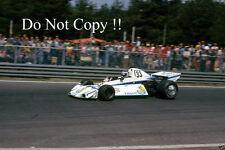 Patrick Neve Brabham BT44B belga Grand Prix 1976 fotografía