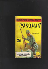 VINTAGE UK.THRILLER.YASUMAI.G.R.PARVIN..IST ED.EARLY DIGIT.NICE COPY