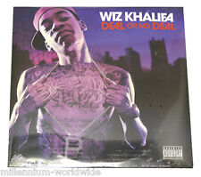"SEALED & MINT - WIZ KHALIFA - DEAL OR NO DEAL - DOUBLE 12"" VINYL LP RECORD ALBUM"
