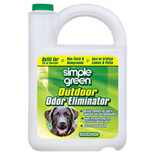 Simple Green Outdoor Odor Eliminator For Pets, Dogs, 1 Gallon Refill - Ideal for
