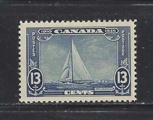 CANADA - 216 - MH - 1935 - ROYAL YACHT - BRITANNIA - 25TH ANN REIGN OF GEORGE V