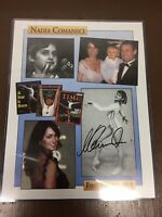 Nadia Comaneci autographed signed auto 1976 Olympics 8.5 X 11 Photograph !