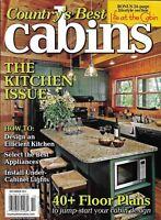 Country's Best Cabins Magazine The Kitchen Issue Floor Plans Under Cabinet Light
