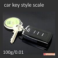 Mini Pocket Digital Scale Ultrathin 100g/0.01 Light Weight Car Key Style