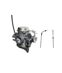 Yamaha Raptor 90 (2009-2013) TK Carburetor 4-Stroke & Throttle Cable - New