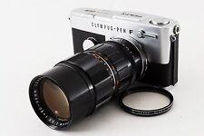 Olympus Pen FT 35mm SLR Film Camera w/Zuiko 50-90mm f/3.5 lens Exc from Japan