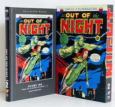 OUT OF THE NIGHT Volume 2 Slipcase 1953 American Comics Group ACG Pulps New HC