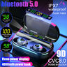 Kopfhörer 3 LED Power Display 4000mAh bluetooth 5.0 Stereo TWS Wireless Headset