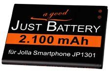 original JuBaTec Akku für Jolla Phone JP-1301 Sailfish mit 2100 mAh