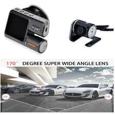 Dual Lens Car DVR Dash Cam Night Vision Rear view Camera H.264 Video Recorder